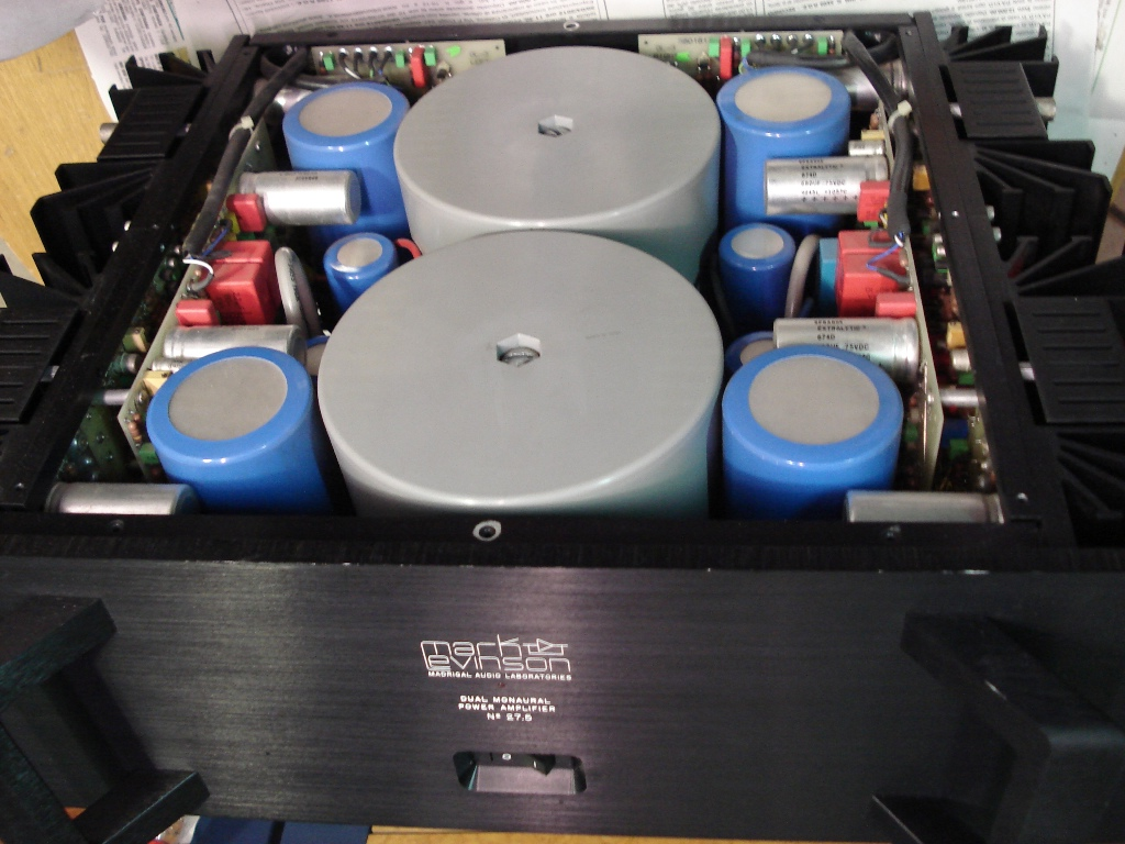 Mark Levinson 27 5 in laboratorio