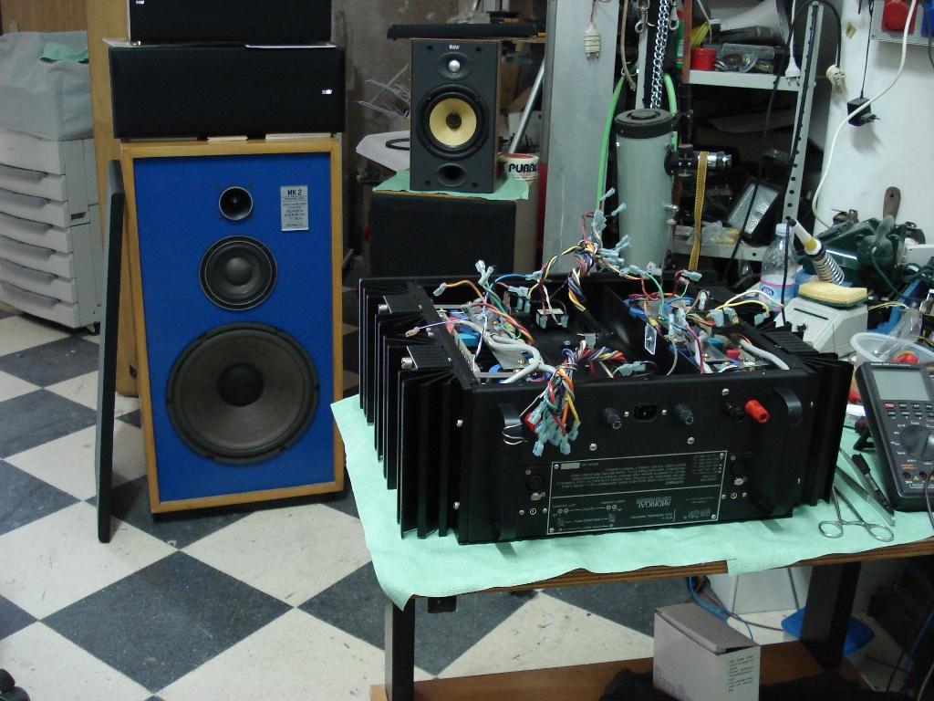 Mark Levinson 27 5 strange failure with     - diyAudio